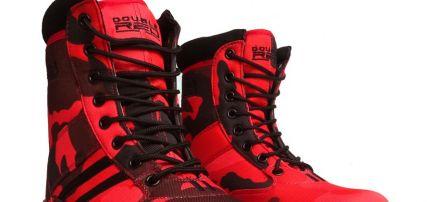 Bakancs B&W Red Hell