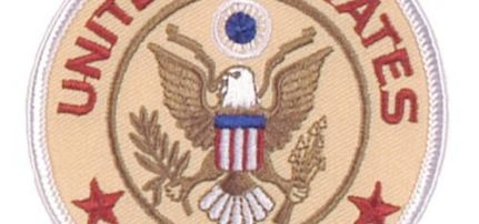 United States Army felvarró