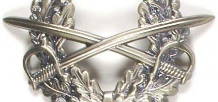 Bundeswehr Tányérsapka jelvény