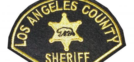Los Angeles Sheriff patch
