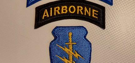 Airborne Special Forces felvarró szett.