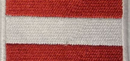 Ausztria Zászló felvarró