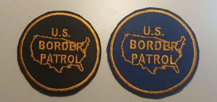 U.S. Border Patrol felvarró