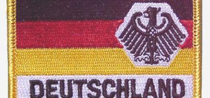 Német Zászló Sassal  felvarró