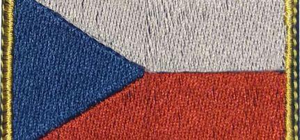 Cseh Zászlós felvarró