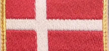 Dánia Zászlós felvarró