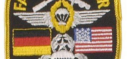 Fallschirmjager felvarró