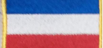 Holland zászlós felvarró
