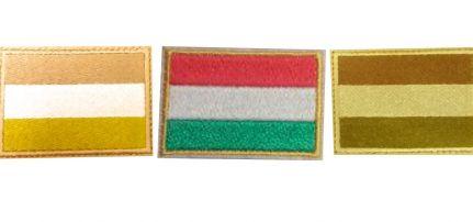 Magyar Zászló felvarró 2