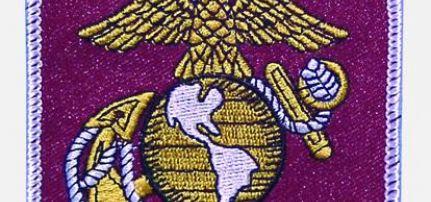 United States Marine felvarró