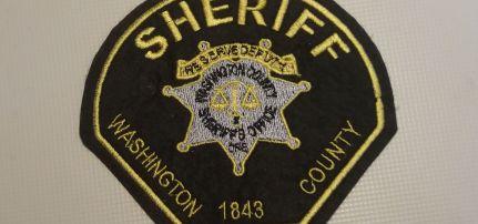 Washington Sheriff felvarró