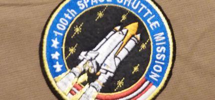 Nasa space shuttle felvarró