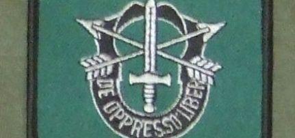 Special Forces felvarró