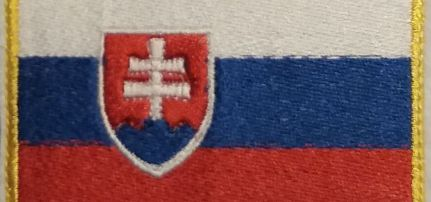 Szlovák Zászlós felvarró