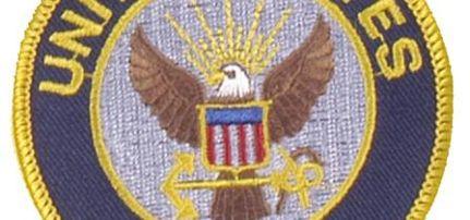 United States Navy felvarró