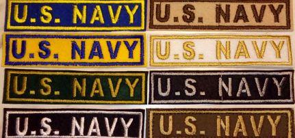 U.S.  Navy Patch
