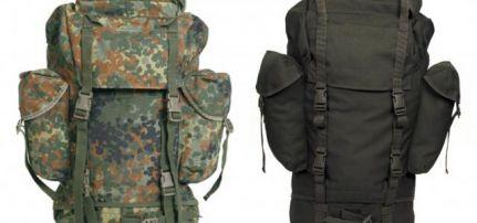 4f3e27cce4a5 Bundeswehr használt hátizsák NATO