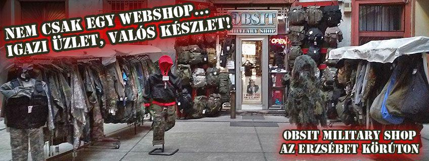 Katona ruha és kellék bolt    OBSIT MILITARY SHOP 96503392fd